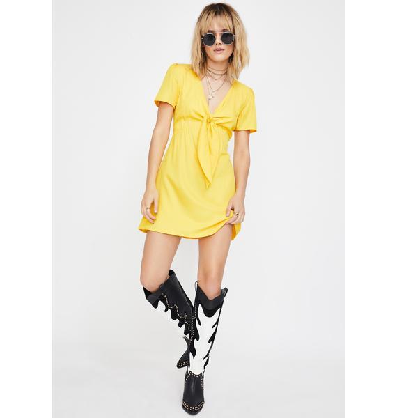 Glamorous Sunny Delilah Daisy Mini Dress