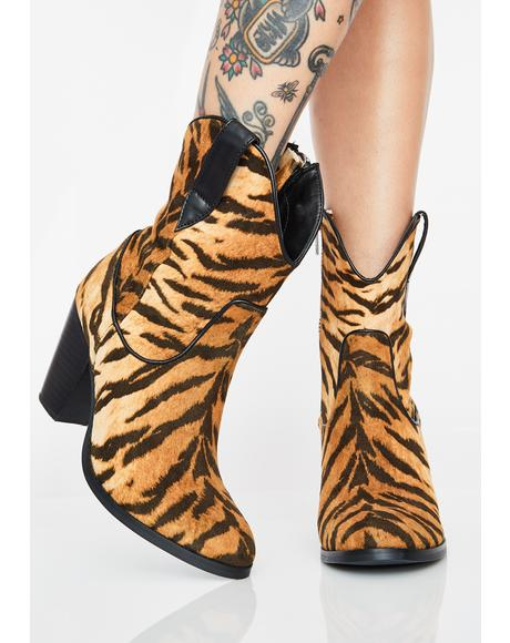 Lethal Weapon Tiger Boots