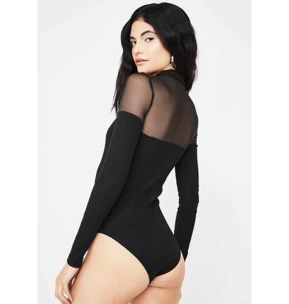 THE KRIPT Brunella Mesh Bodysuit