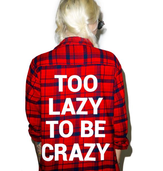 Jac Vanek Too Lazy Custom Flannel