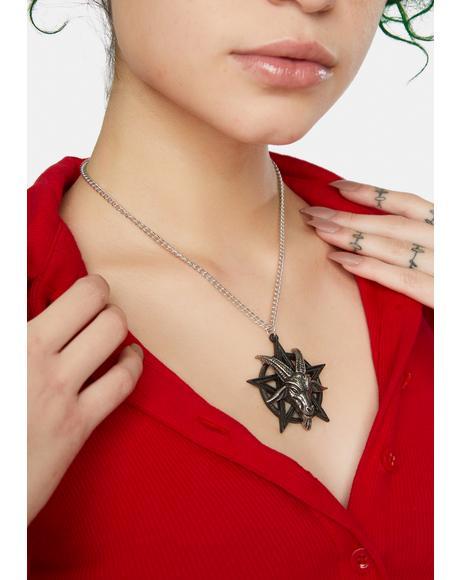 Baphomet Pendant Necklace