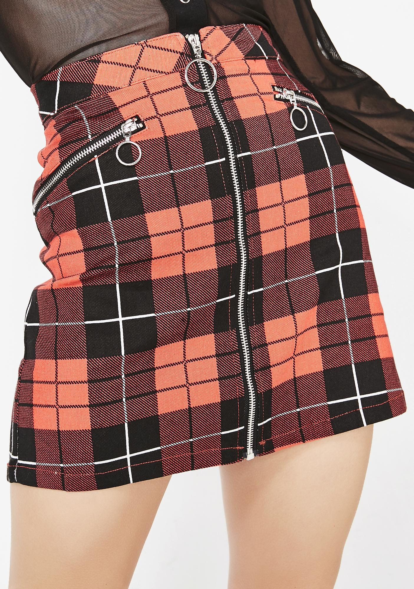 Anti Authority Mini Skirt by