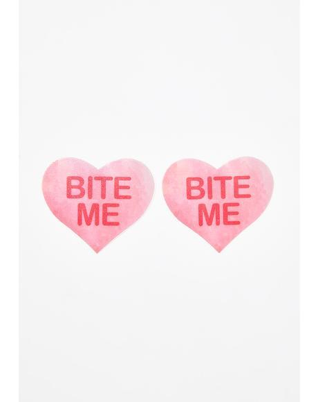 Bite Me Heart Pasties