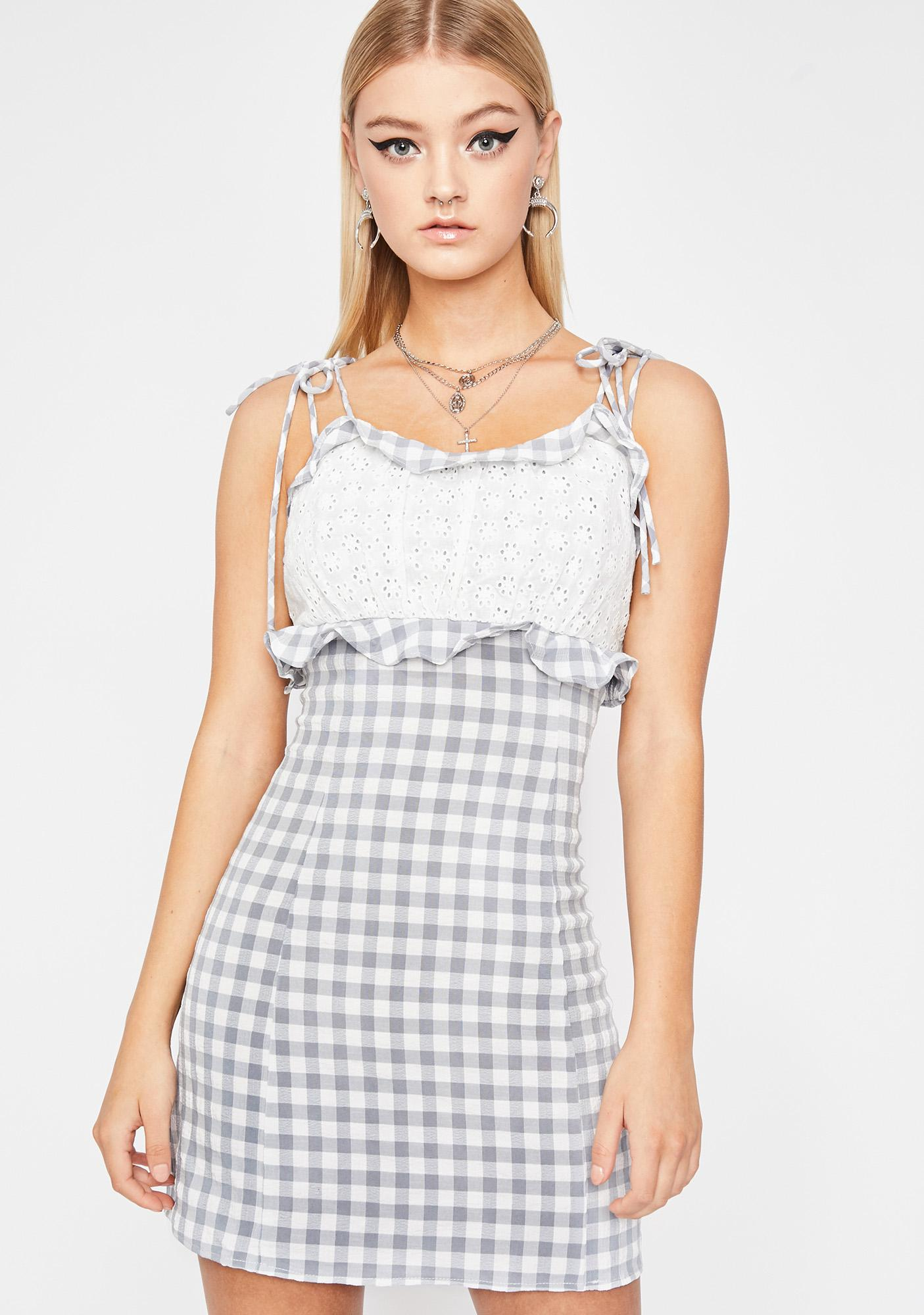 Country Doll Gingham Dress