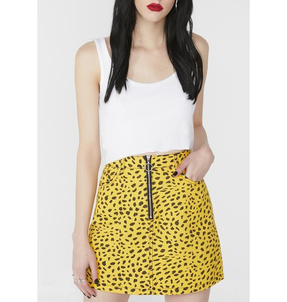 Wildlife Mini Skirt