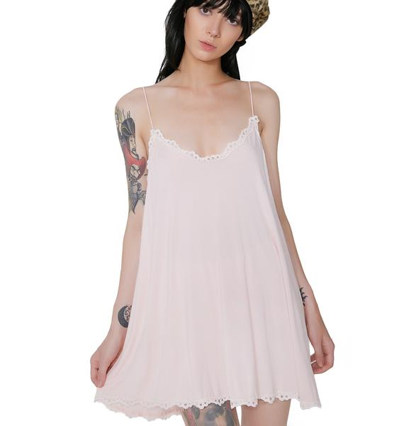 In Your Daydreamz Lace Trim Tank