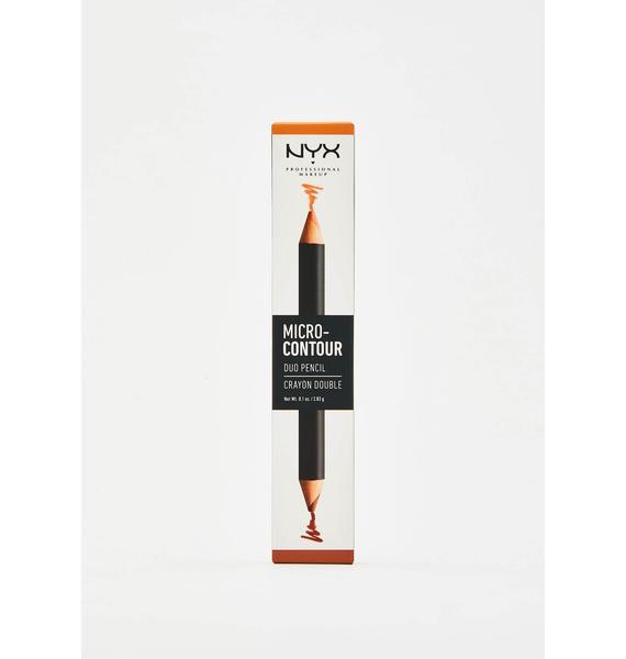 NYX Professional Makeup Deep Micro Contour-Duo Pencil