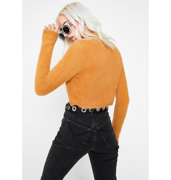Caramel Superhuman Sweater