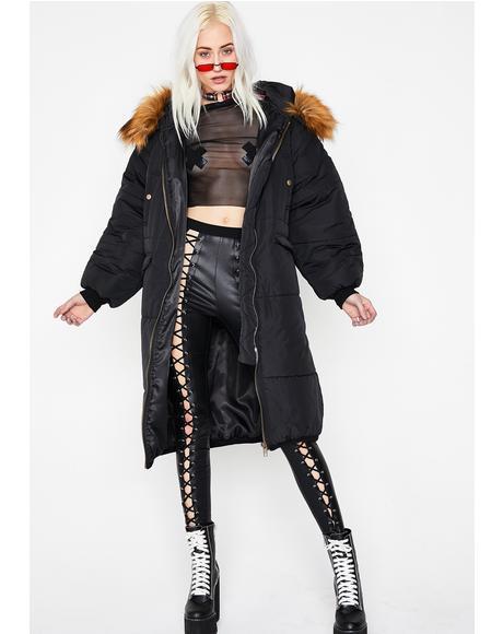 Bangin' Blizzard Puffer Jacket