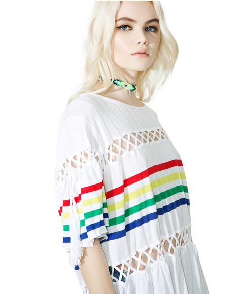 South Beach Stripe Sweater