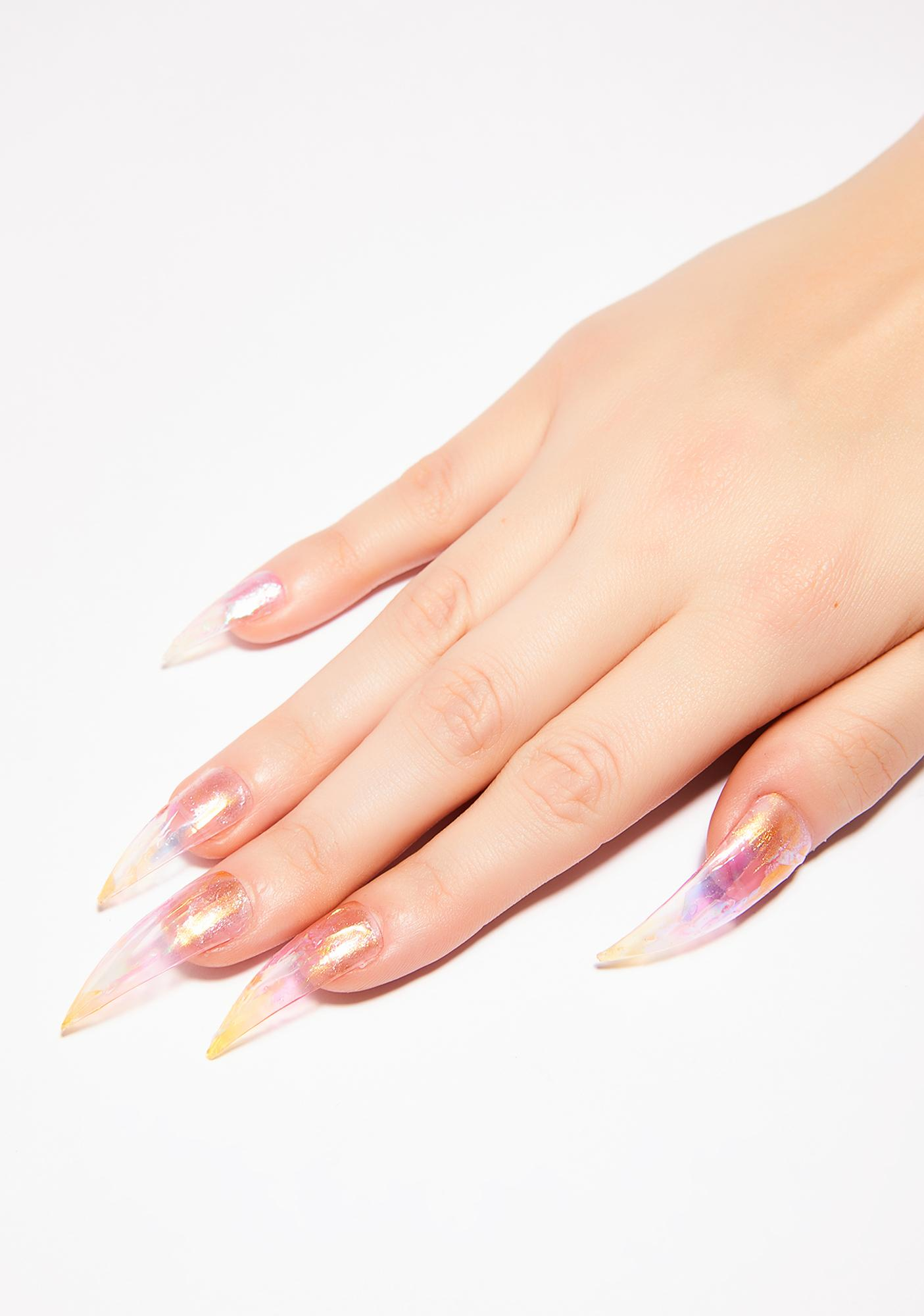 Unicorns Poop Glitter Faerie Wings Nail Set