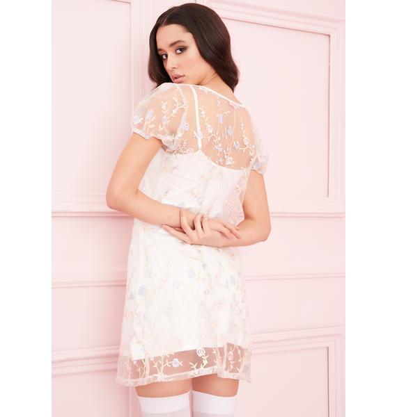 Sugar Thrillz Forbidden Garden Embroidered Dress