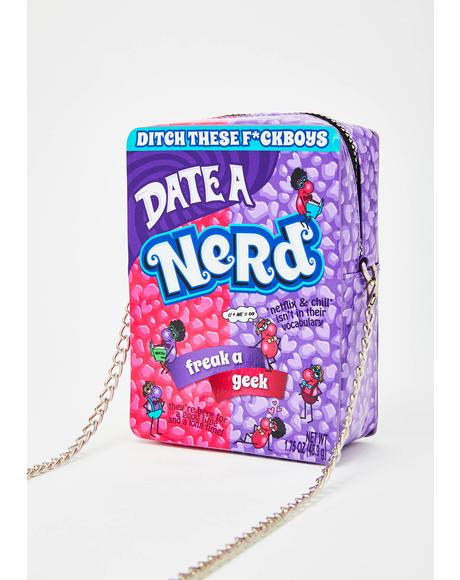 Nerdy Flirty Crossbody Bag