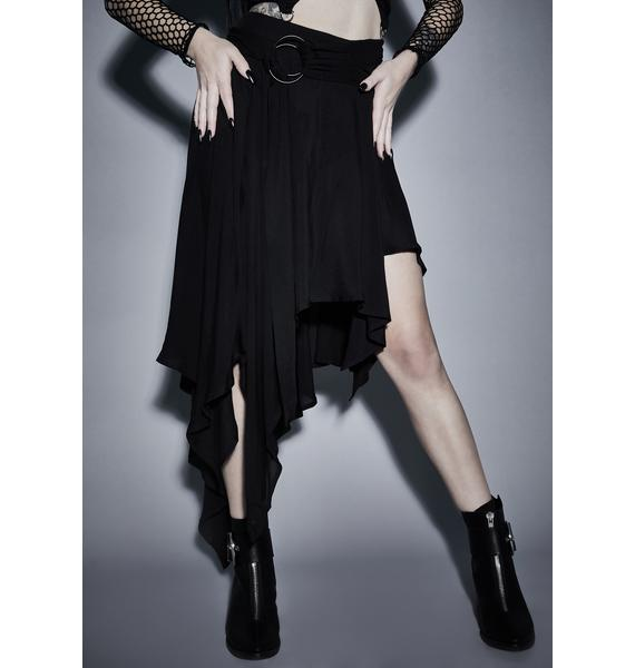 Widow Twisted Mystic Asymmetrical Skirt