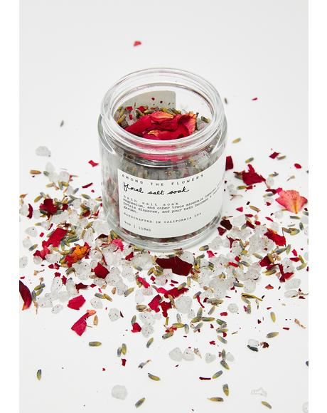 Floral Salt Bath Soak