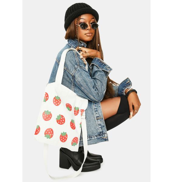 Essentials Run Canvas Tote Bag