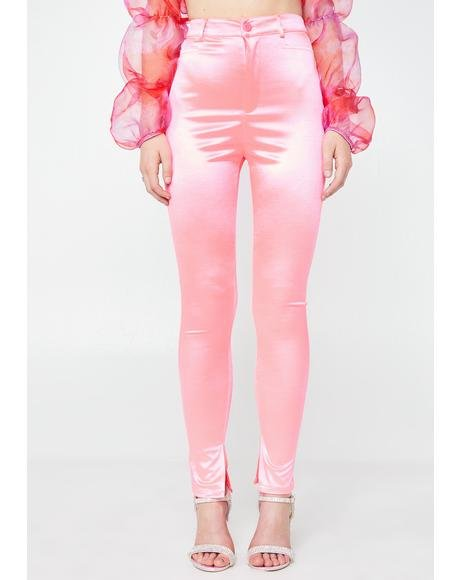 Candy Hell'z Angel Satin Pants