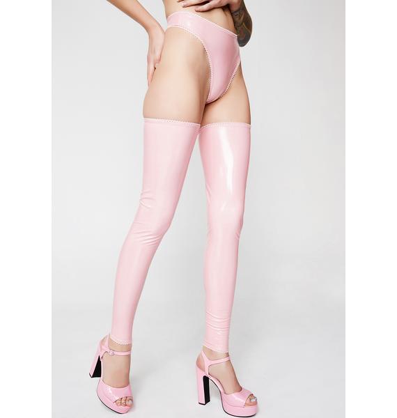Bedroom Behavior Lingerie Blossom Legwear