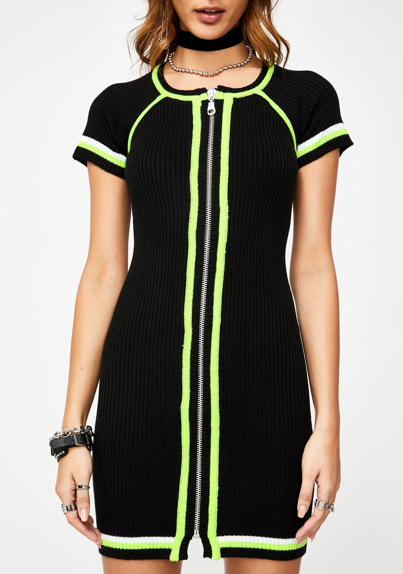 The Ragged Priest Element Knit Dress