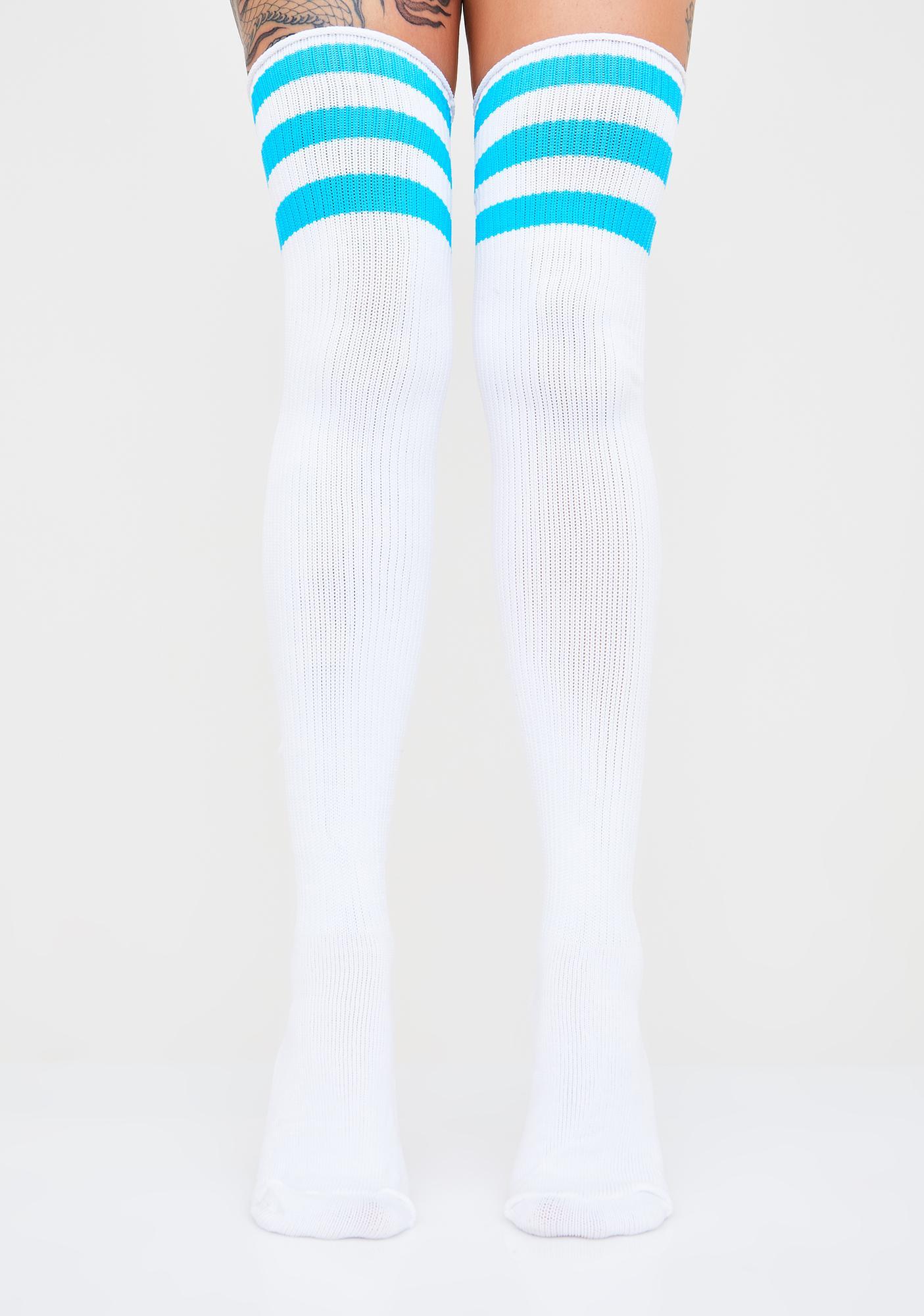 Ice Princess Thigh High Socks