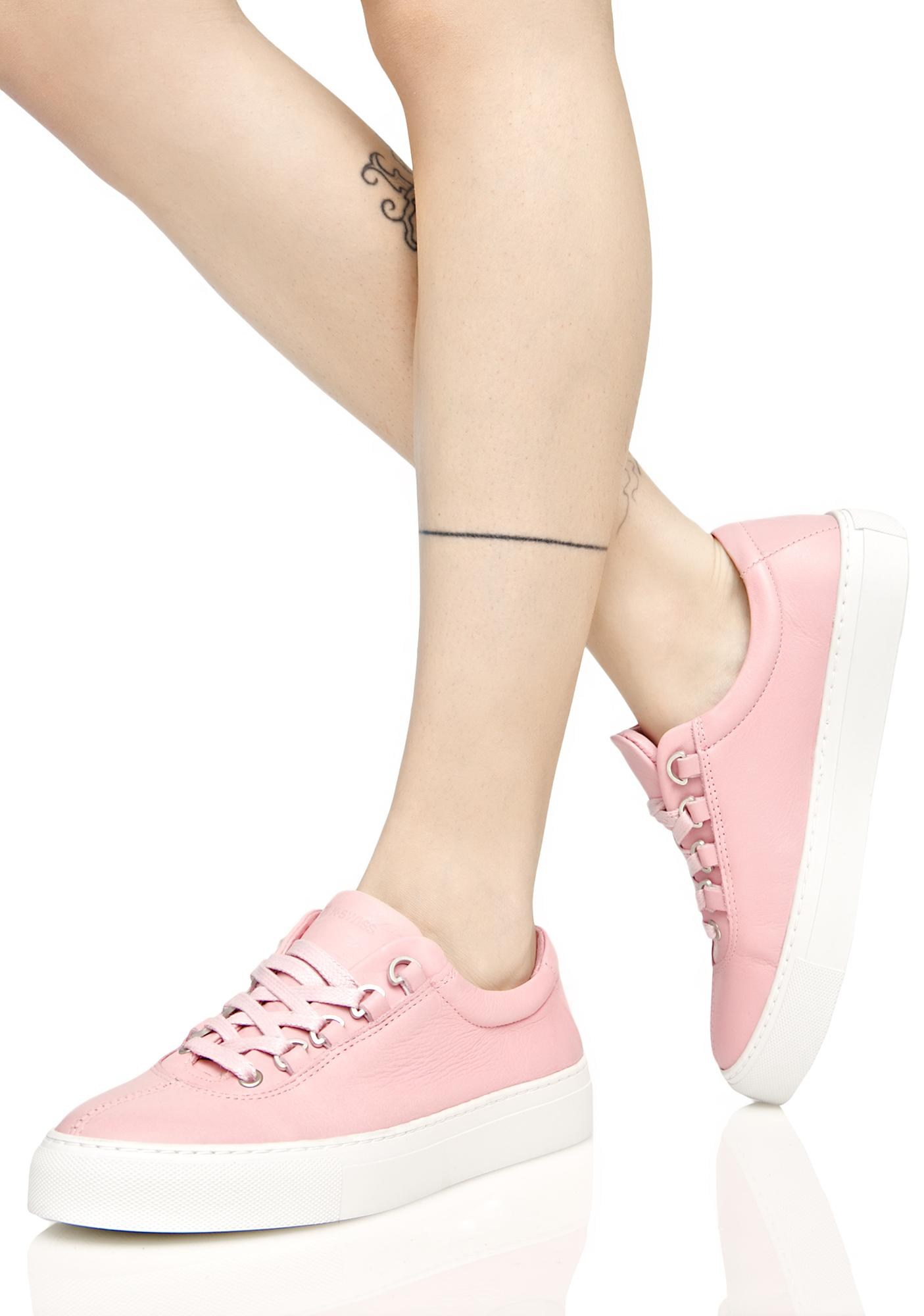 K Swiss Pink Court Classico Sneakers