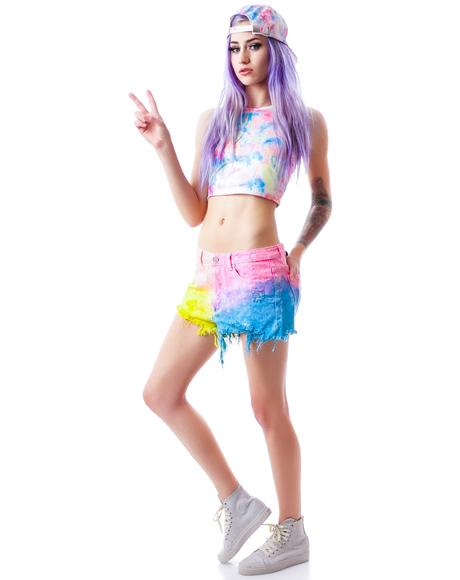 Tie Dye Hangover Shorts