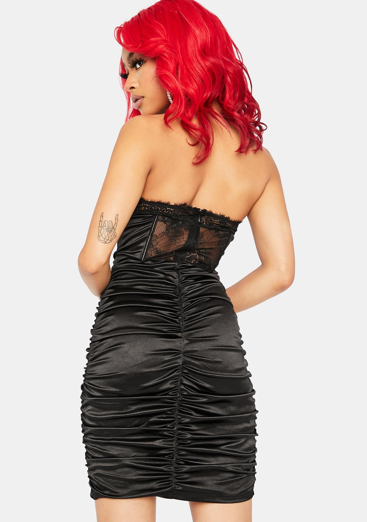 Body Language Ruched Dress