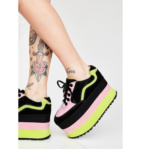 HOROSCOPEZ Star Stomperz Platform Sneakers