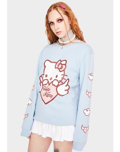 Hello Kitty Angel Heart Sweatshirt