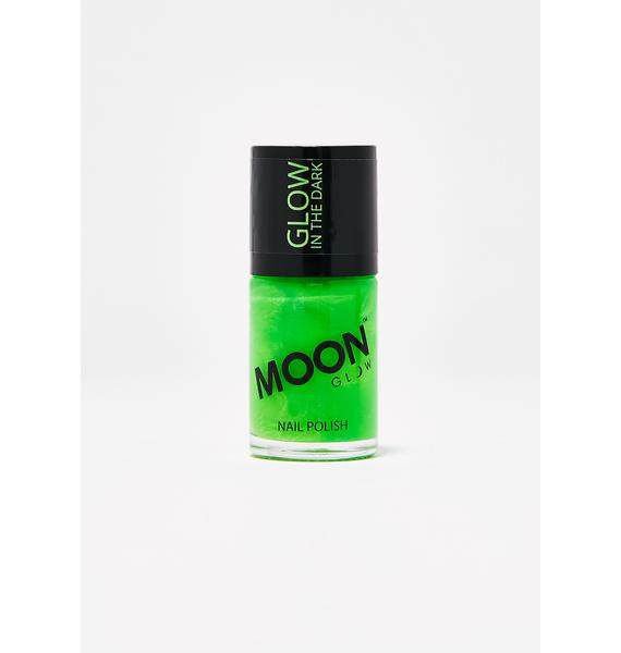Moon Creations Green Glow In The Dark Nail Varnish