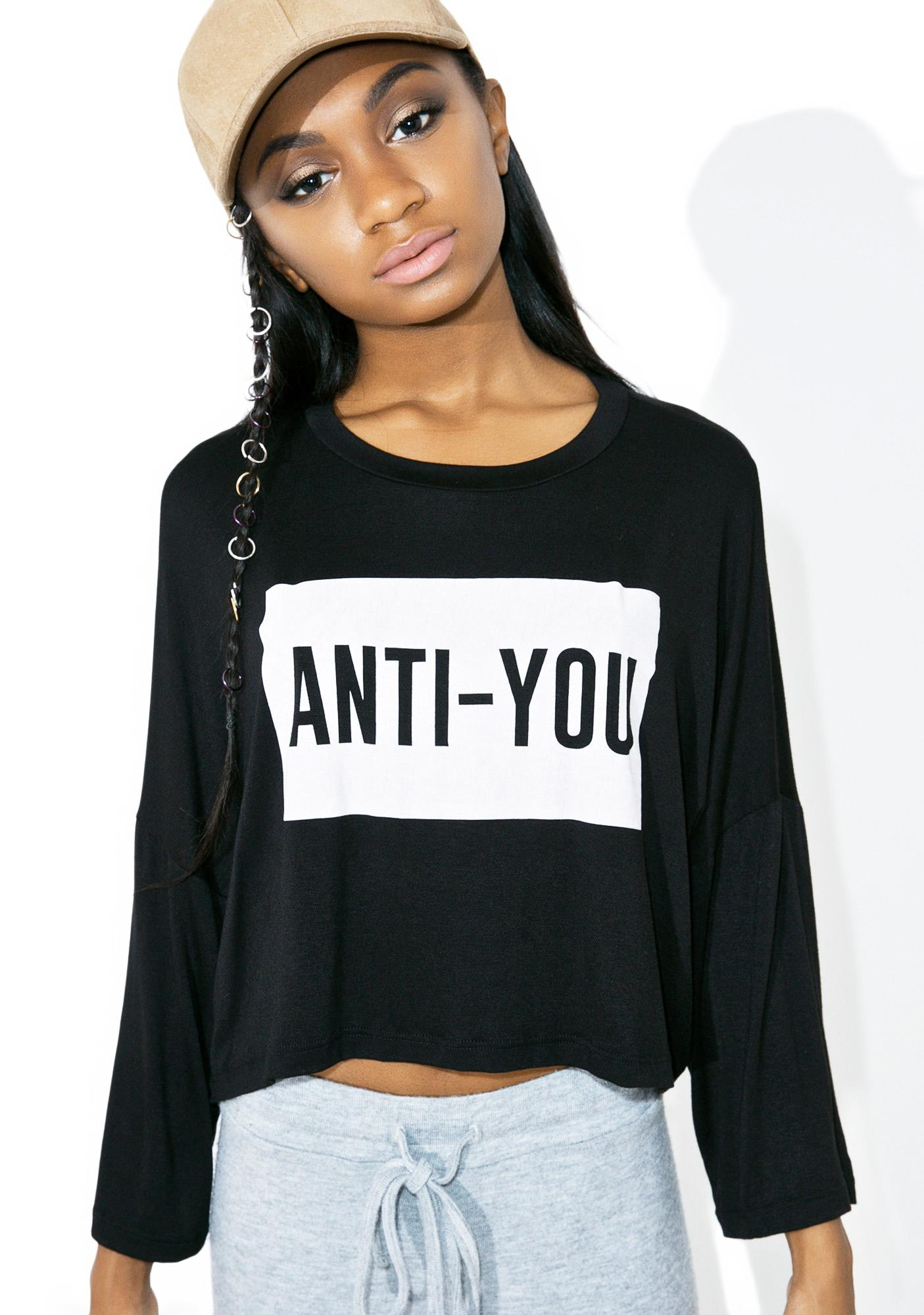 Anti-You Long Sleeve Tee