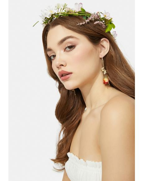 Summer Love Resin Drop Earrings