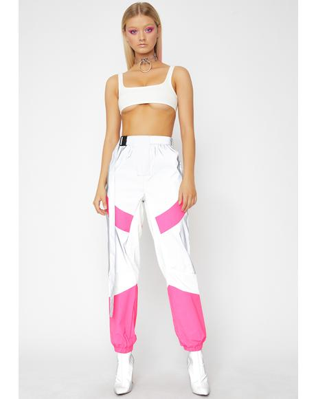 Glowin' Up Reflective Pants
