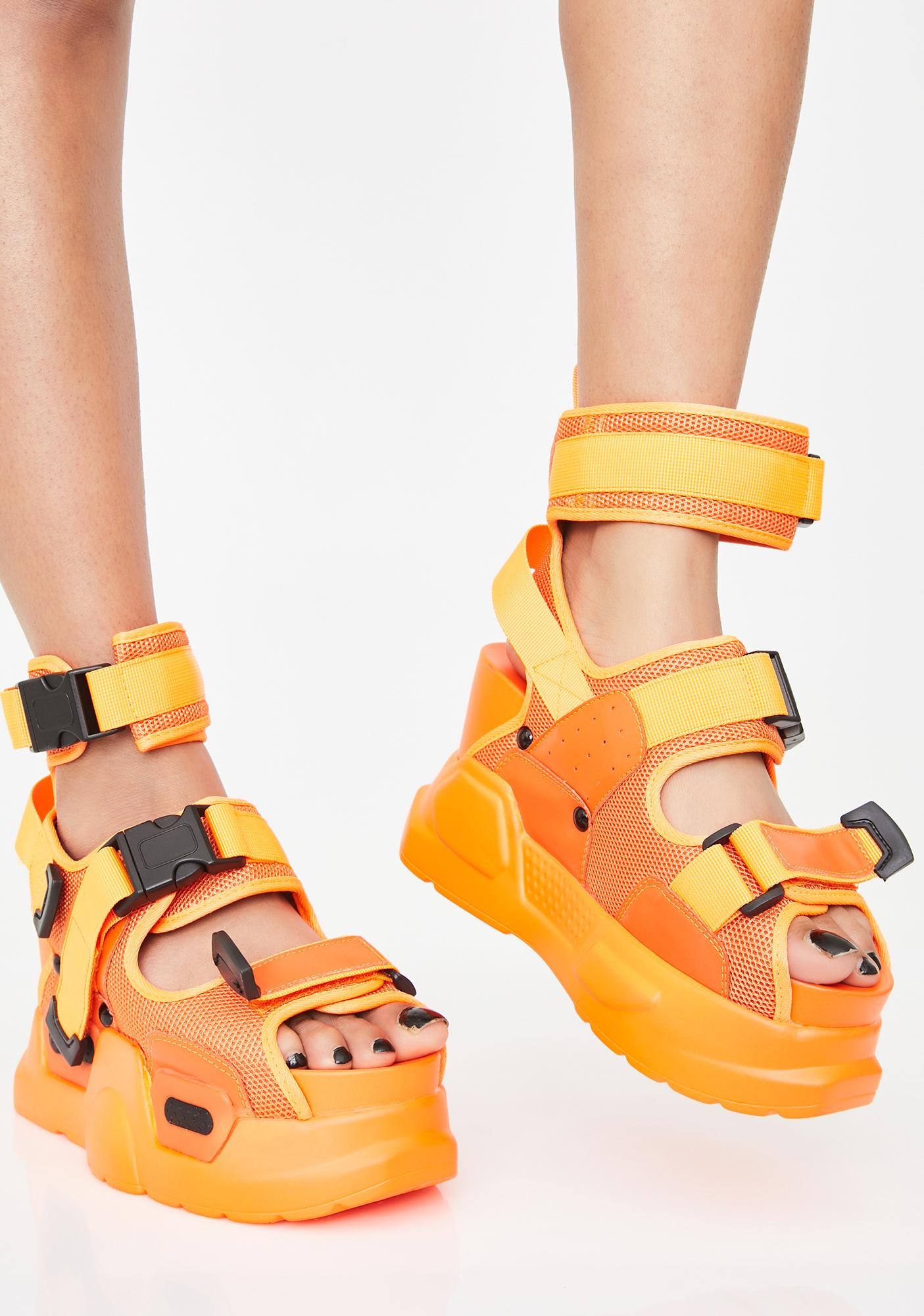 Juicy Daily Hustle Platform Sandals by Anthony Wang