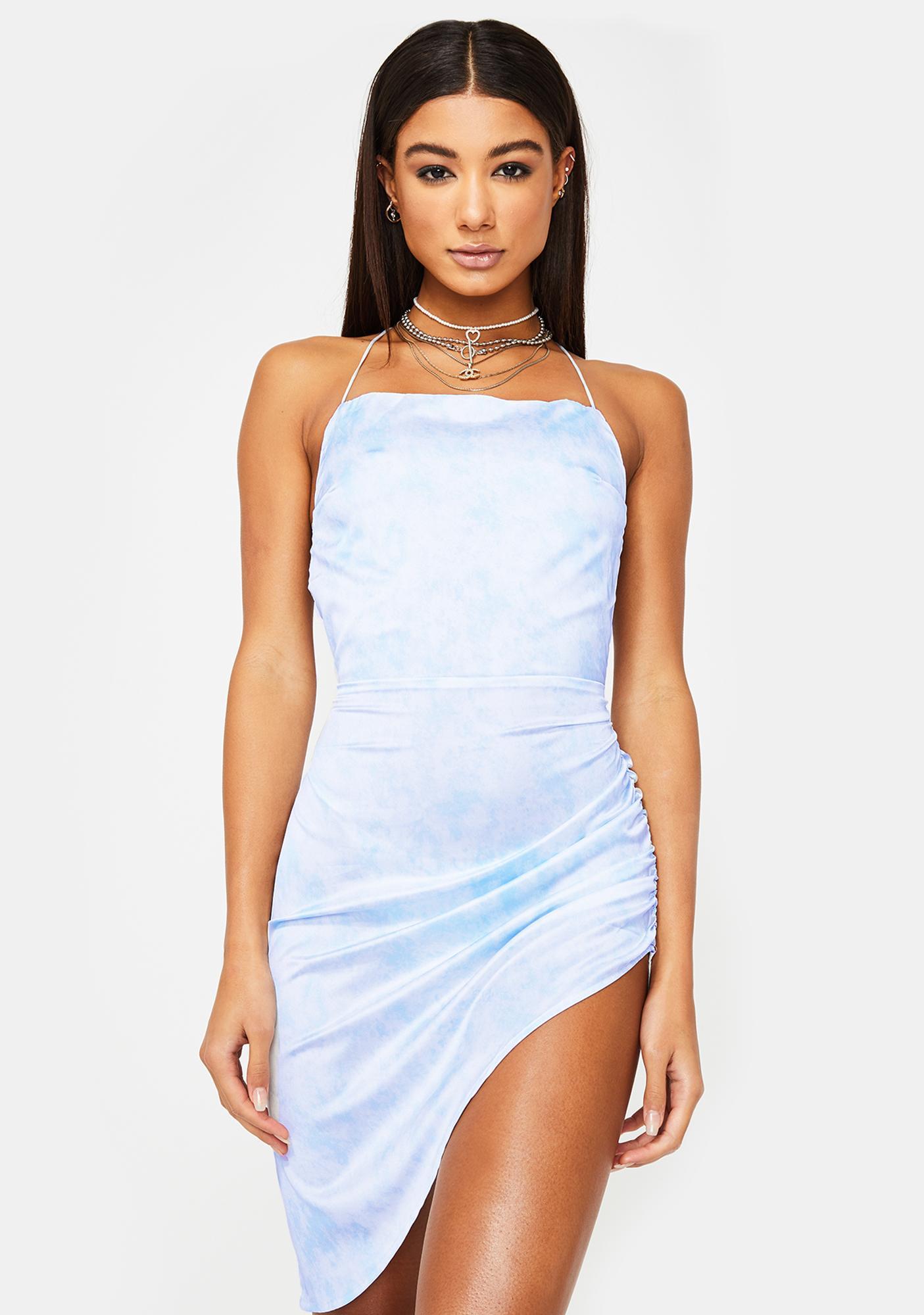 Lioness Blue Tie Dye Vivien Dress