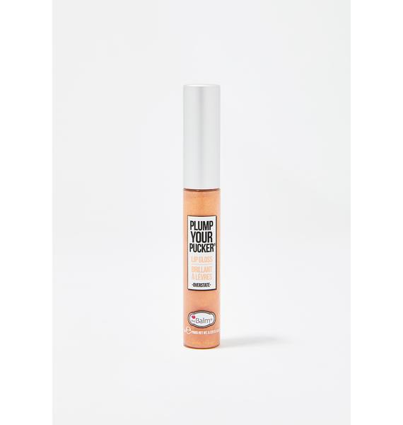 The Balm Overstate Plump Your Pucker Lip Gloss