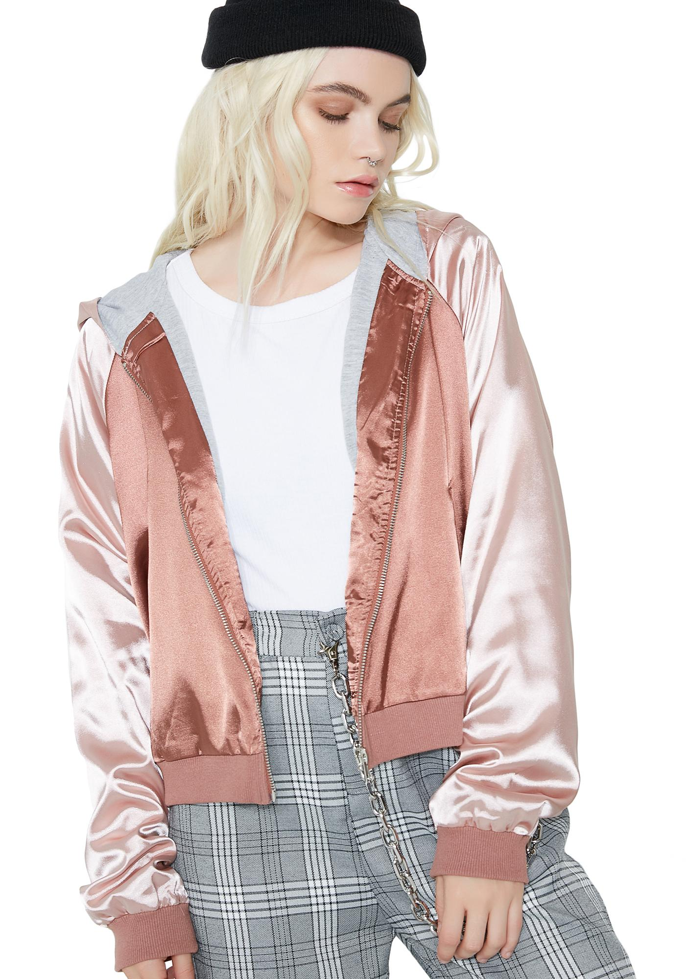 Famous Last Words Bomber Jacket