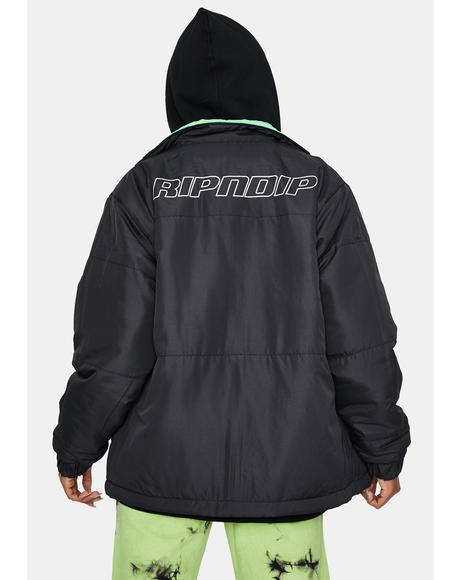 Neo Nerm Reversible Field Puffer Jacket