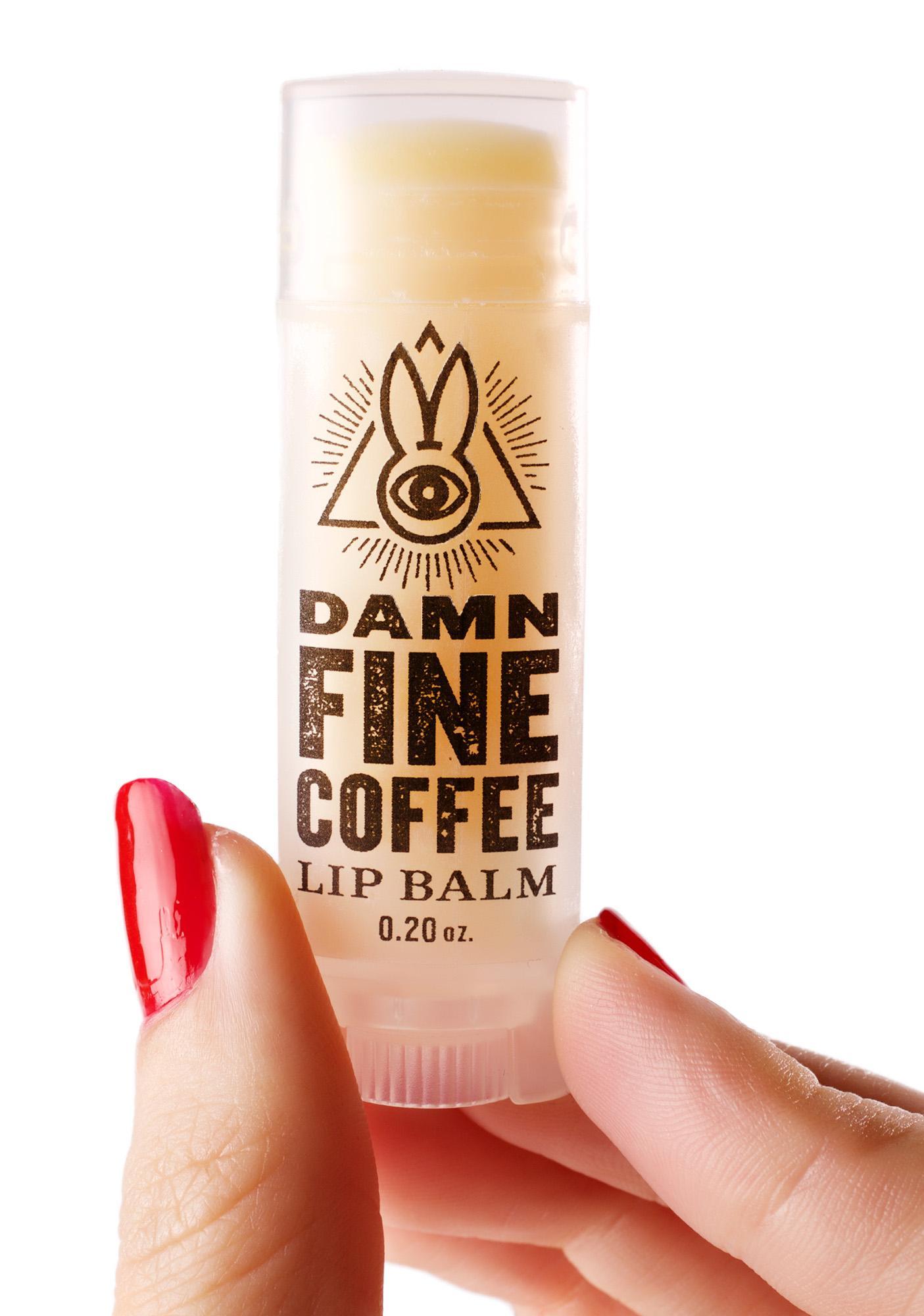 Arcane Bunny Society Damn Fine Coffee Lip Balm