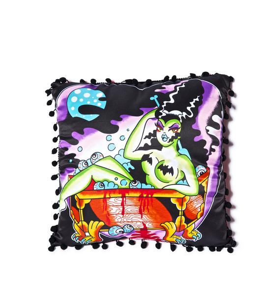 Sourpuss Clothing Tub Monster Pillow