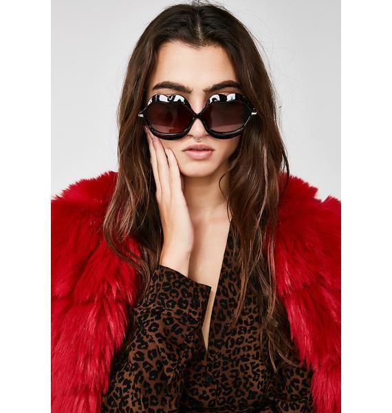 Kitty Read My Lips Sunglasses
