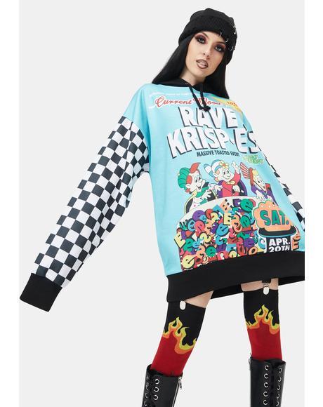 Rave Krisp-E's Oversized Hoodie