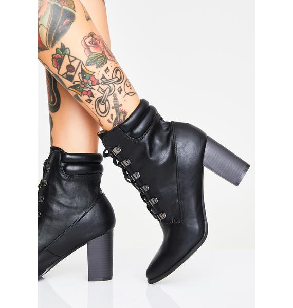 Maxed Out Lace-Up Boots