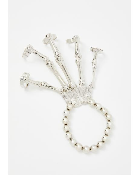 Bone This Way Skeleton Bracelet