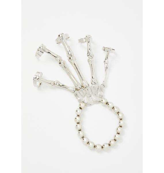 Bone This Way Skeleton Bracelet
