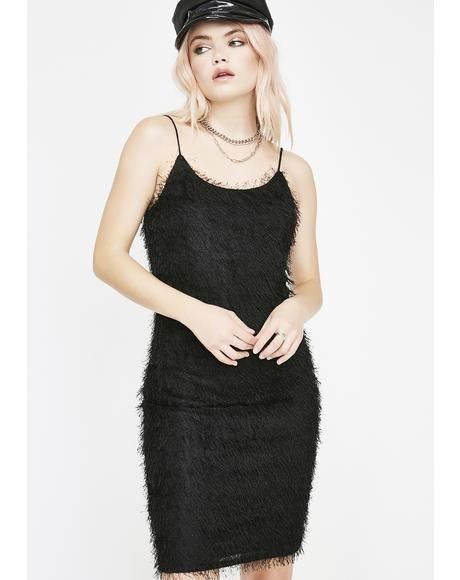 Pick Me Up Fuzzy Dress