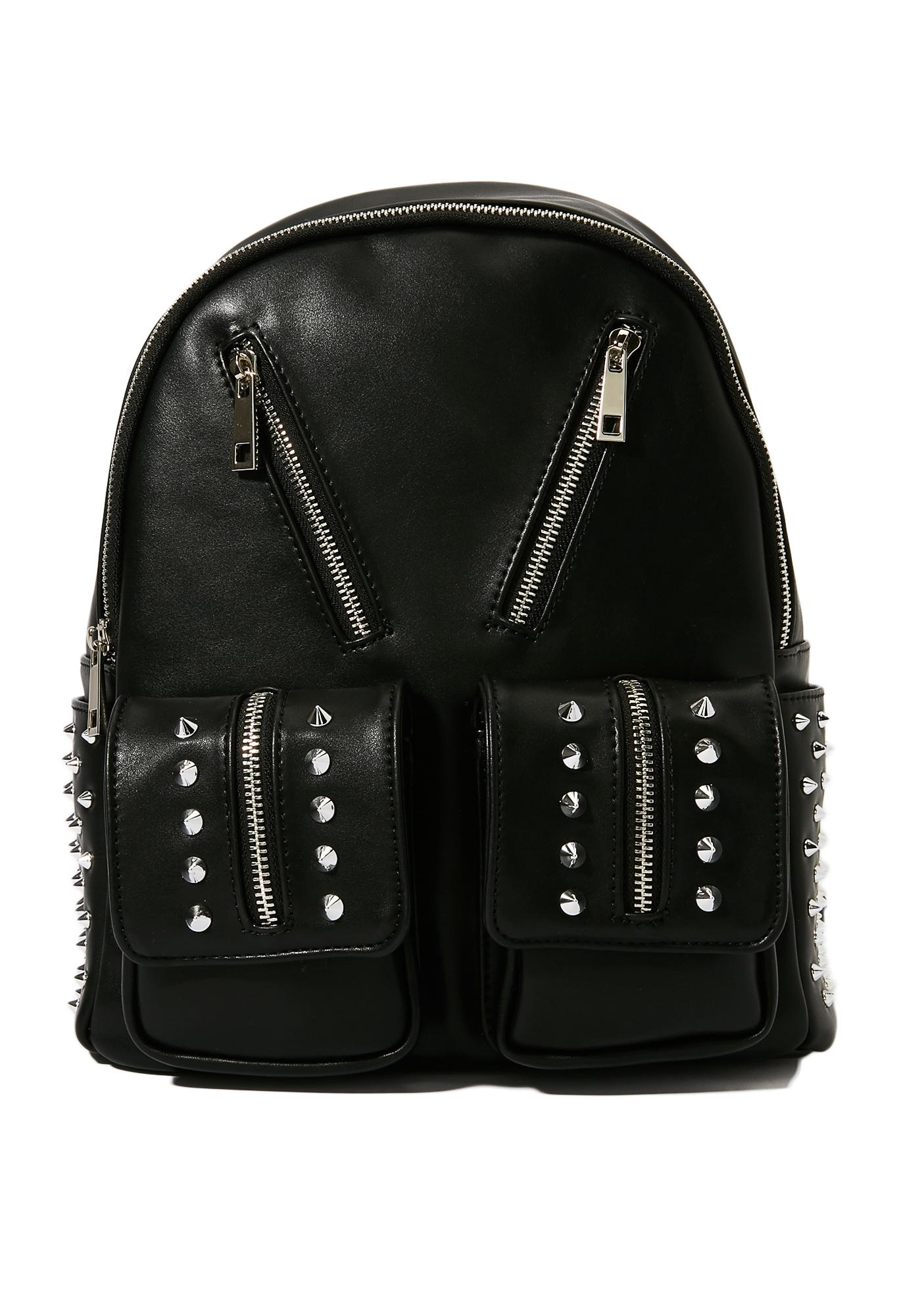 Current Mood Hades Studded Backpack