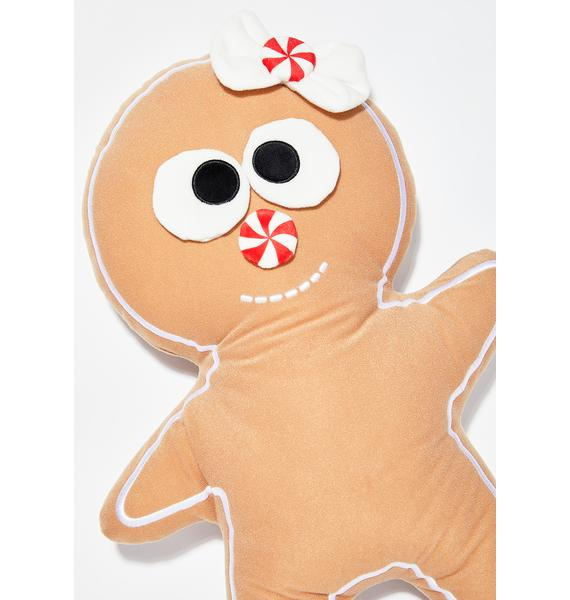 Kidrobot Yummy World Large Gingerbread Jimmy Plush
