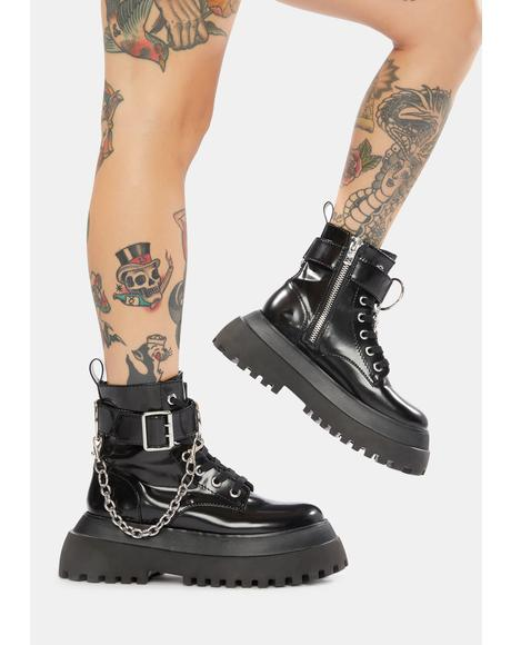 Make Some Noise Combat Boots