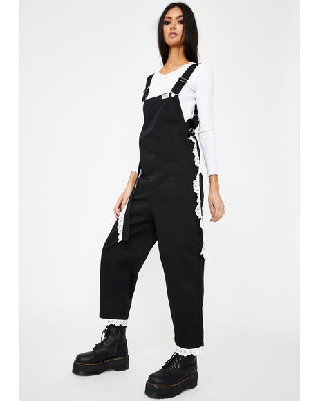 x Dickies Work All In One Lace Overalls
